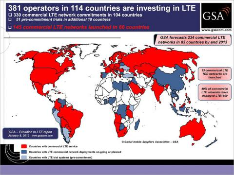 LTE World Investments Map